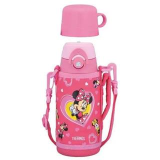 ディズニー(Disney)の新品未使用 サーモス ミニー  ステンレス水筒 保温 保冷 ディズニー ピンク(水筒)