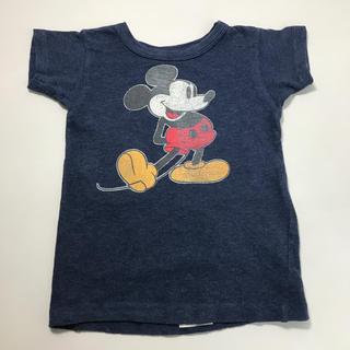 デニムダンガリー(DENIM DUNGAREE)のデニムアンドダンガリー ミッキーコラボ Tシャツ 110(Tシャツ/カットソー)