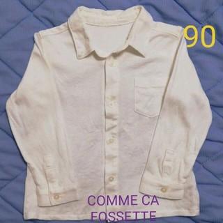 コムサデモード(COMME CA DU MODE)のCOMME CA FOSSETTE シャツ 90(ブラウス)