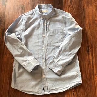 ZARA キッズ 長袖シャツ 水色 形が綺麗です 150cm 入学式 結婚式(ブラウス)