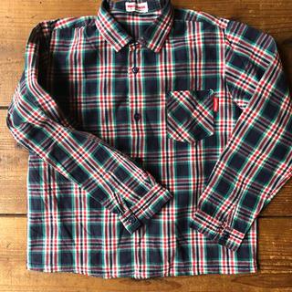 ミキハウス(mikihouse)のmikihouse  120 チェックシャツ (ブラウス)