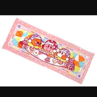 バンプレスト(BANPRESTO)の一番くじ 星のカービィ Twinkle Night G賞タオル(ピンク)(キャラクターグッズ)