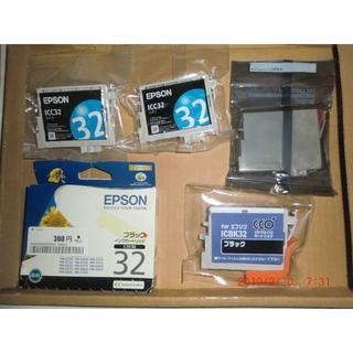 エプソン(EPSON)の644)ICM32互換+ICBK32+ICBK32互換+ICC32×2(PC周辺機器)
