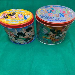 ディズニー(Disney)のディズニー 缶 ディズニー缶 2個セット(小物入れ)