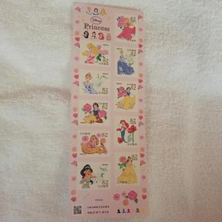 ディズニー(Disney)のディズニープリンセス♡82円切手(切手/官製はがき)