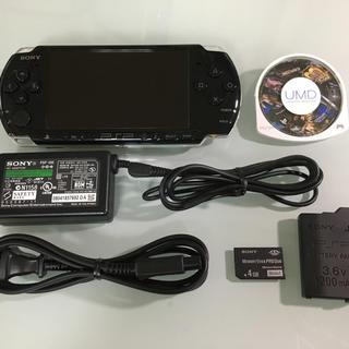 プレイステーションポータブル(PlayStation Portable)のPSP-3000 ピアノブラック(携帯用ゲーム本体)