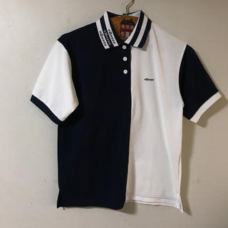 エレッセ(ellesse)のエレッセ紺白ポロシャツ(ポロシャツ)