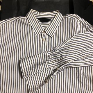 ドレスドアンドレスド(DRESSEDUNDRESSED)のESSAY ロングドレスストライプシャツ(シャツ)