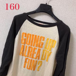 デニムダンガリー(DENIM DUNGAREE)のデニム&ダンガリー☘ロンT 160美品(Tシャツ/カットソー)
