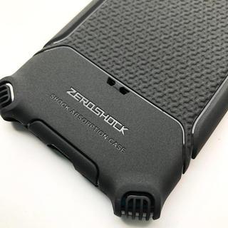 エレコム(ELECOM)のiPhone8/iPhone7用衝撃吸収ケースZEROSHOCK角エアクッション(iPhoneケース)