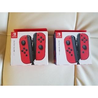 Nintendo Switch - 【即日発送・送料込】新品未開封 任天堂スイッチジョイコン レッドJoy-Con