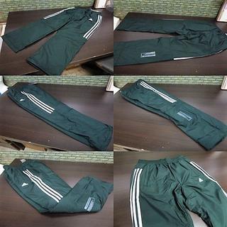アディダス(adidas)のL 緑)アディダス ウィンドブレーカーパンツ DUQ94 中綿入りロングパンツ(ウェア)