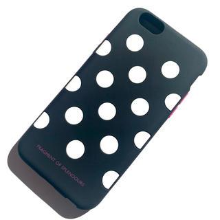 エレコム(ELECOM)のiPhone6s/iPhone6用●超やわらかシリコンケース●ドット柄●エレコム(iPhoneケース)