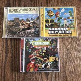 MIGHTY JAM ROCK / SOUND BACTERIA 3セット(ワールドミュージック)