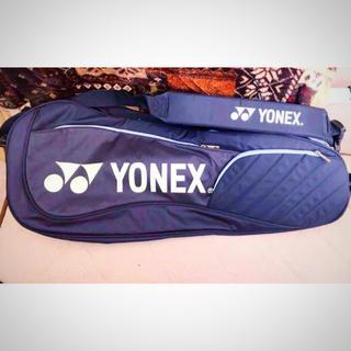 ヨネックス(YONEX)のヨネックス テニス ラケットバッグ ネイビー ☆(バッグ)