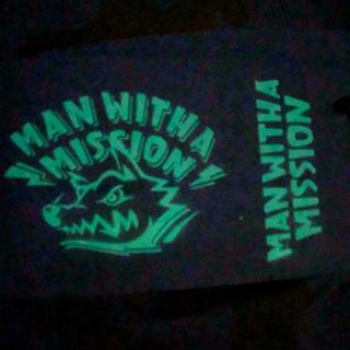 マンウィズアミッション(MAN WITH A MISSION)のマンウィズ ステッカー 2枚セット(ステッカー(シール))