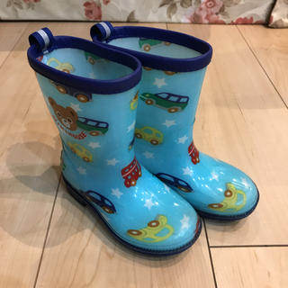 ミキハウス(mikihouse)のミキハウス 長靴レインブーツ15㎝(長靴/レインシューズ)
