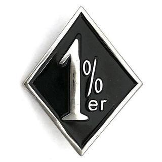 1%er ピンバッジ 1%er Pin ワンパーセンター アウトロー(その他)