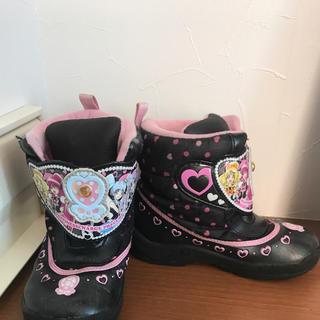 ハピネスチャージプリキュア 冬靴 ブーツ 18cm (長靴/レインシューズ)