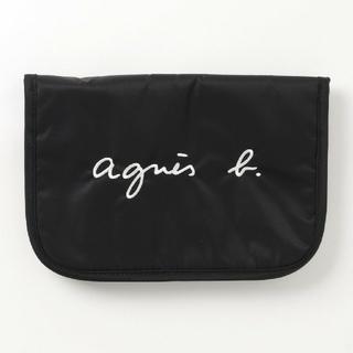 アニエスベー(agnes b.)のロゴ刺繍母子手帳ケース 母子手帳 アニエスベー  agnes b.(母子手帳ケース)