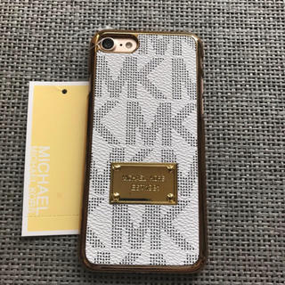 Michael Kors - iPhone7/8 ケース ハードケースカバー ホワイト