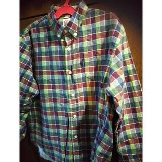 ジェイプレス(J.PRESS)のJPRESS   130  ネルシャツ(ブラウス)