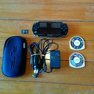 プレイステーションポータブル(PlayStation Portable)のpsp1000(携帯用ゲーム本体)
