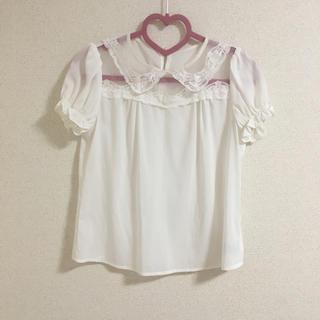 アンクルージュ(Ank Rouge)のAnk Rouge 半袖ブラウス(シャツ/ブラウス(半袖/袖なし))