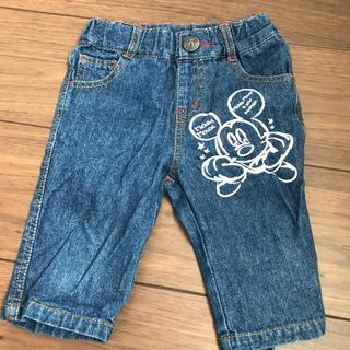 ディズニー(Disney)のミッキー♡ハーフパンツ 90(パンツ/スパッツ)