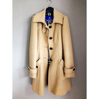 バーバリーブルーレーベル(BURBERRY BLUE LABEL)のバーバリー ブルーレーベル コート 38(ロングコート)