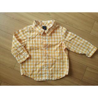 ベビーギャップ(babyGAP)の90 babyGap チェックシャツ(ブラウス)