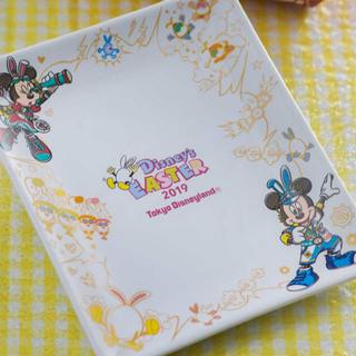 Disney - ディズニー ランド イースター スーベニア プレート