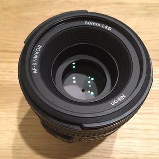 ニコン(Nikon)の【新品同様】NIKON 単焦点 AF-S NIKKOR 50mm f/1.8G(レンズ(単焦点))
