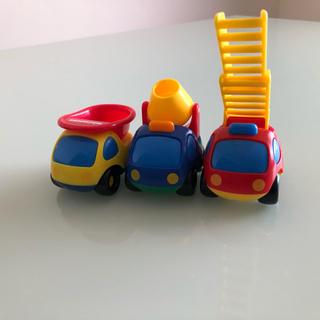 b0462c93e7119 ミキハウス(mikihouse)のミキハウス 車 おもちゃ はたらくくるま(電車のおもちゃ 車)