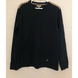 バーバリー(BURBERRY)の美品✳︎バーバリーロンドン ロングTシャツ(Tシャツ/カットソー(七分/長袖))