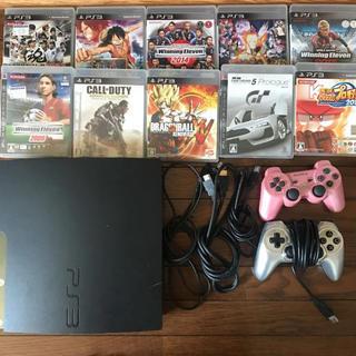 プレイステーション3(PlayStation3)のPlayStation3 本体 コントローラー カセット セット(家庭用ゲーム本体)