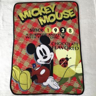 ディズニー(Disney)のミッキーマウス  大判 ブランケット(おくるみ/ブランケット)