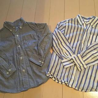 デニムダンガリー(DENIM DUNGAREE)のデニム&ダンガリー  D&D ストライプシャツ 2点セット(Tシャツ/カットソー)