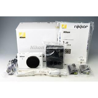 ニコン(Nikon)の★Nikon 1 J3 ボディ ホワイト★予備バッテリー付き (ミラーレス一眼)