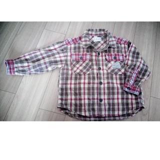 90 チェックシャツ(ブラウス)