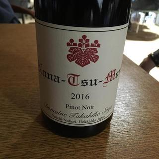 ナナツモリ ピノ・ノワール 2016 ドメーヌ タカヒコ(ワイン)