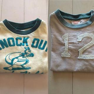 デニムダンガリー(DENIM DUNGAREE)のデニム&ダンガリー  D&D Tシャツ 2枚セット(Tシャツ/カットソー)
