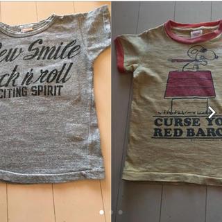 デニムダンガリー(DENIM DUNGAREE)のデニム&ダンガリー  Tシャツ 2枚セット(Tシャツ/カットソー)