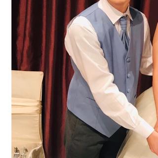 結婚式 新郎 ネクタイ ベスト(スーツベスト)
