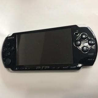 プレイステーションポータブル(PlayStation Portable)のPSP ブラック 3000(携帯用ゲーム本体)