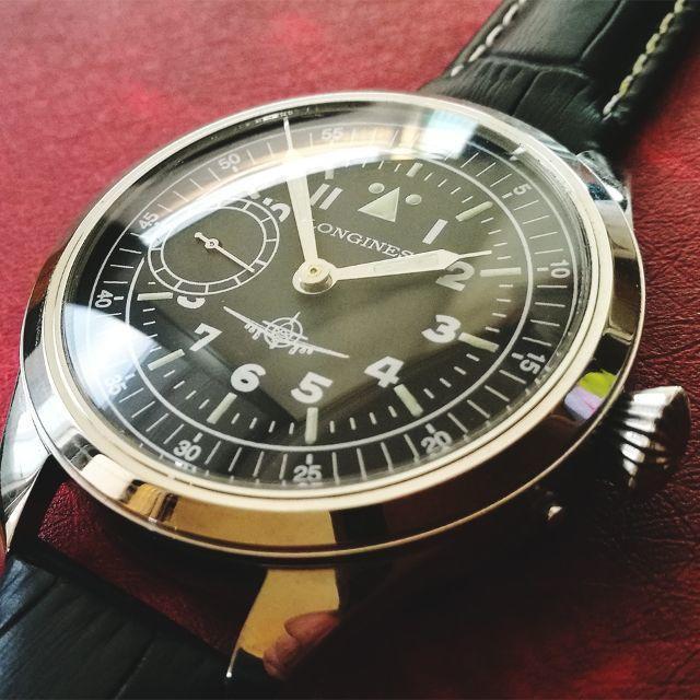 LONGINES - 【美品】ロンジン LONGINES ミリタリー 高級 アンティーク メンズ腕時計の通販