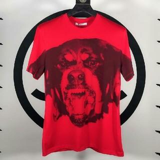 ジバンシィ(GIVENCHY)のジバンシィ Givenchy  Tシャツ   レッド S(Tシャツ/カットソー(半袖/袖なし))