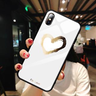 アップル(Apple)のiPhone7・ 8ケース【ガラスハート】(iPhoneケース)