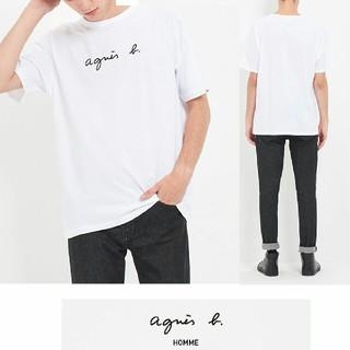 アニエスベー(agnes b.)のagnes bアニエス・ベー ロゴTシャツ(Tシャツ/カットソー(半袖/袖なし))