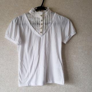 アーヴェヴェ(a.v.v)の難ありa.v.v 洋服同梱であれば無料で差し上げます(シャツ/ブラウス(半袖/袖なし))